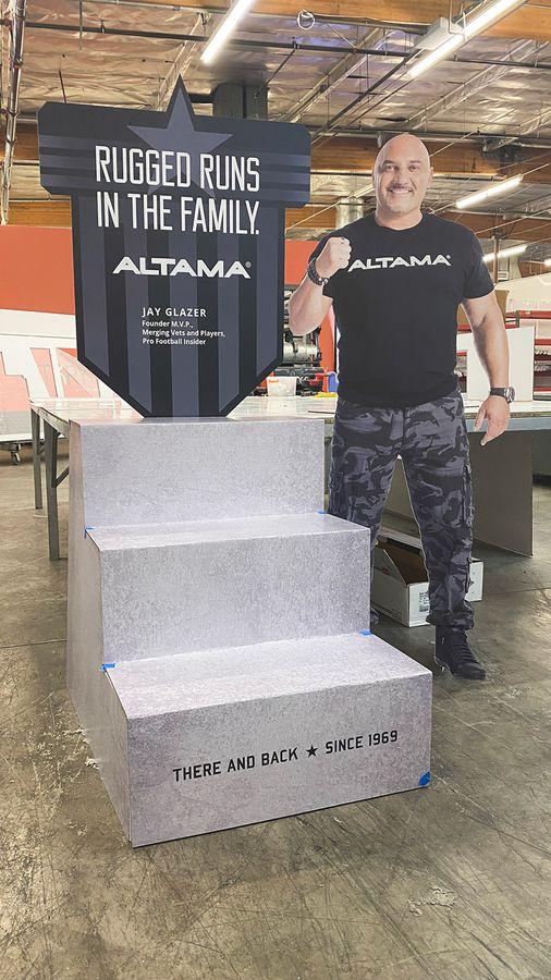 Altama custom display