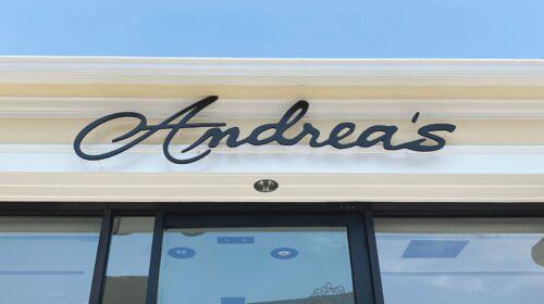 Andrea's fashions pvc 3d letters