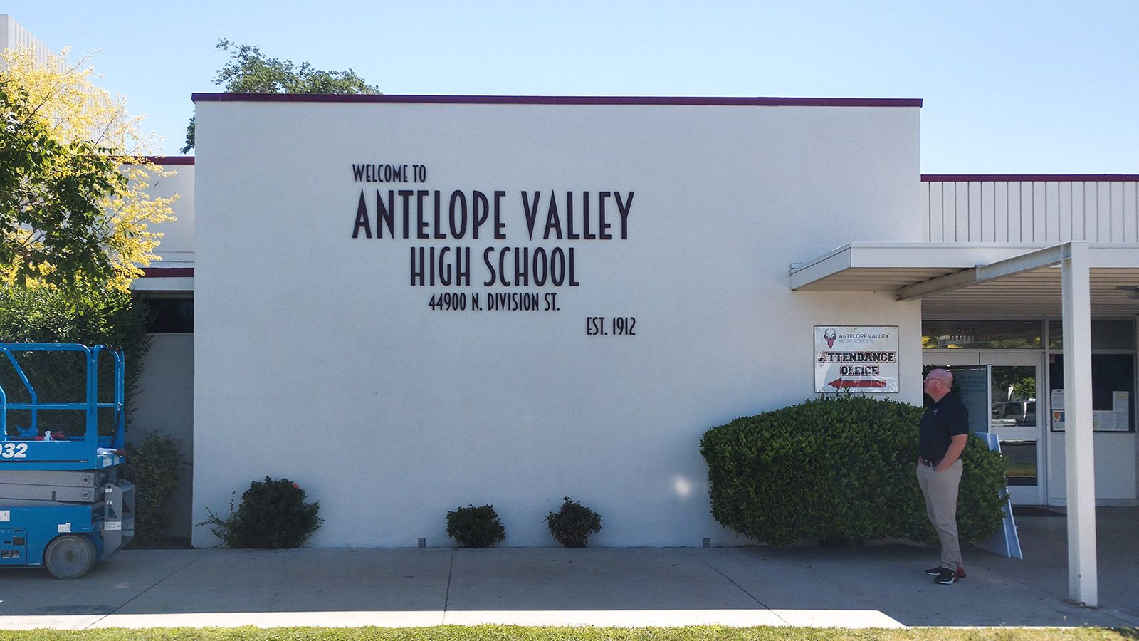 Antelope valley building 3d letters