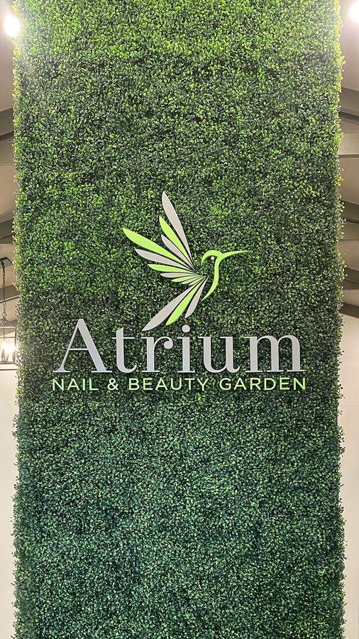 Atrium acrylic 3D sign