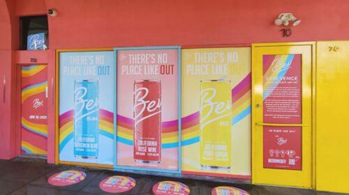 Bev storefront window decals