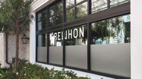 Erewhon custom window decals