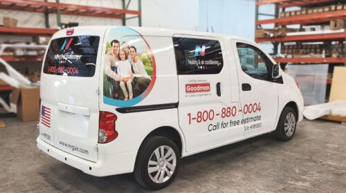 Goodman vehicle branding