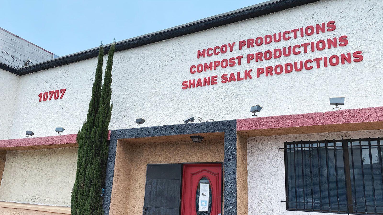Mccoy productions 3D letters