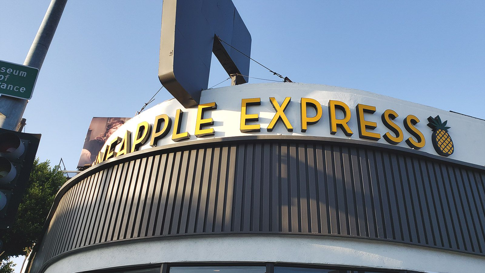 Pineapple express channel letters