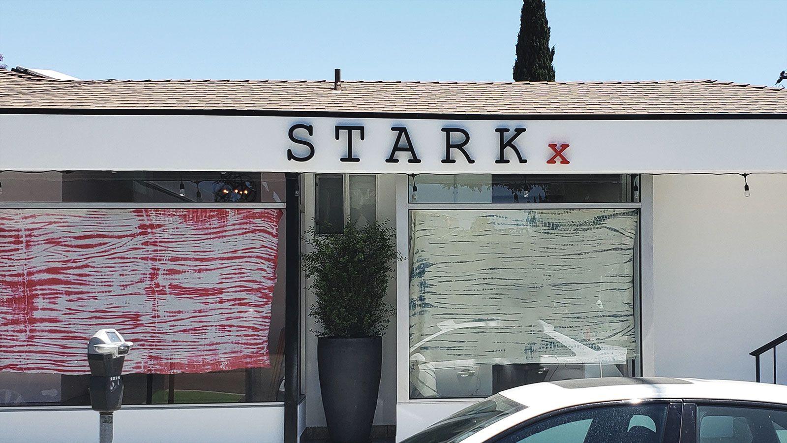 Stark aluminum 3d letters