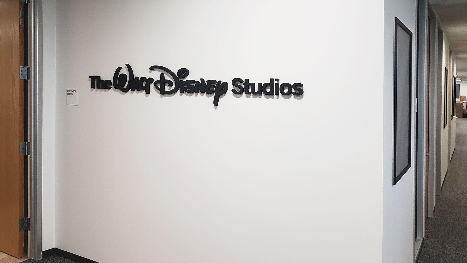 Walt Disney 3D sign