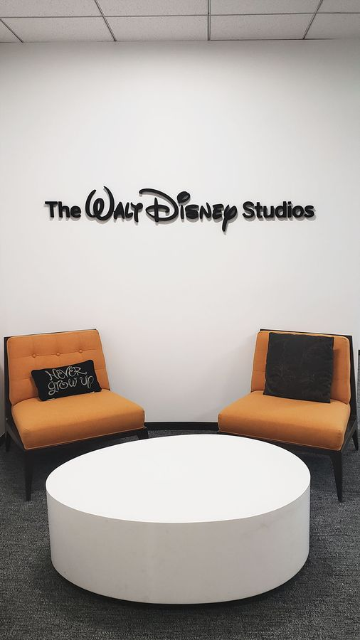 Walt Disney office signs