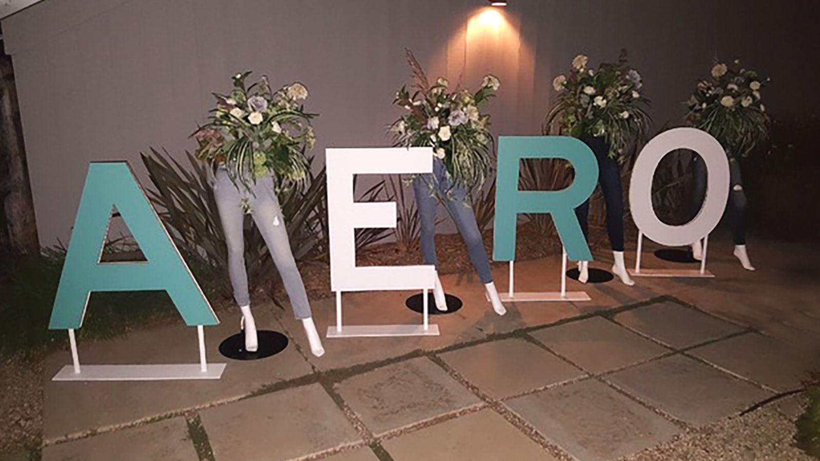 aeropostale 3d letters