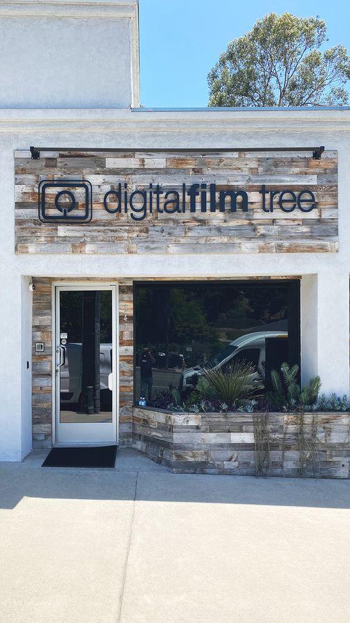 digitalfilm tree 3D letters