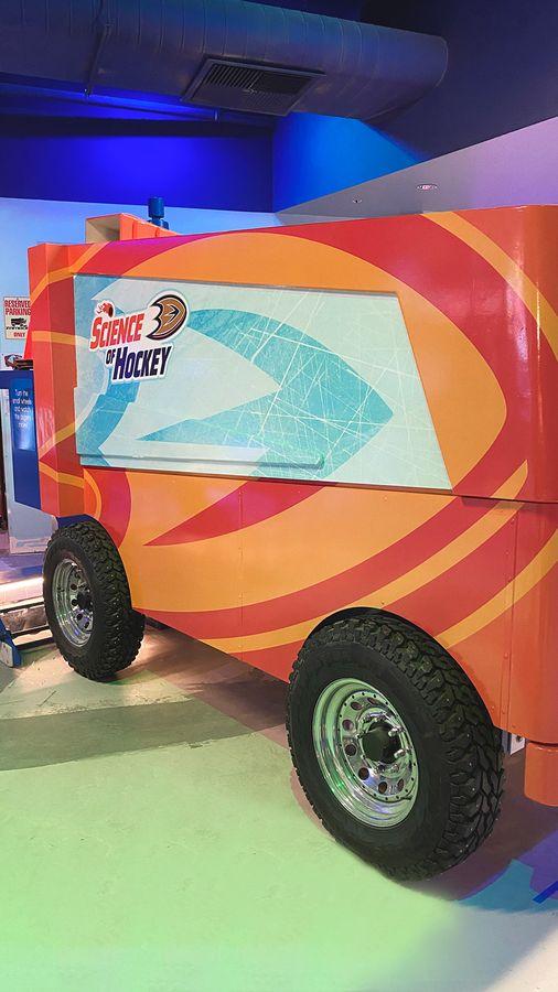 science of hockey vehicle wrap