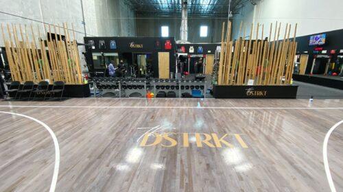 the dstrkt floor decal