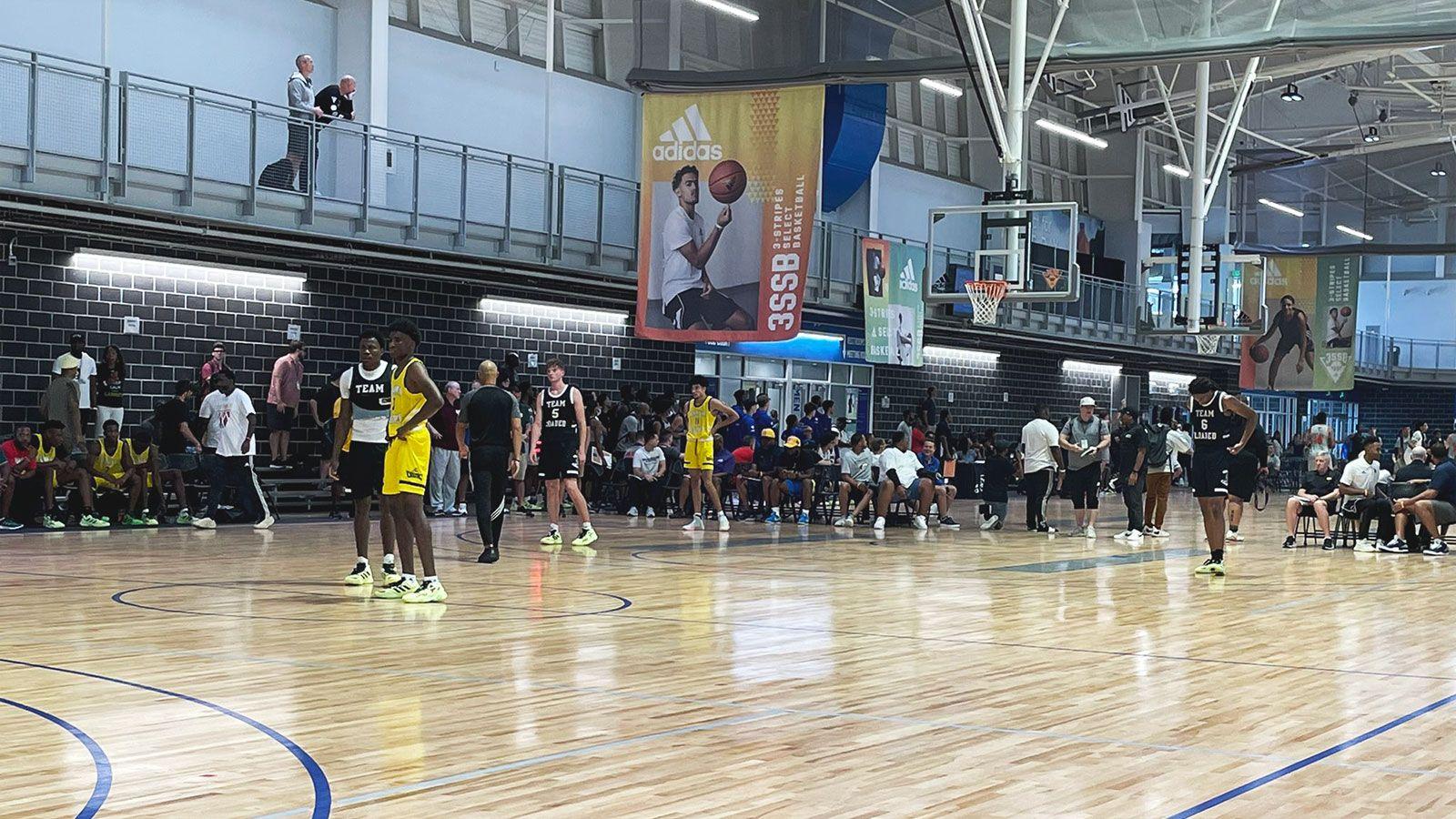 Adidas basketball banners