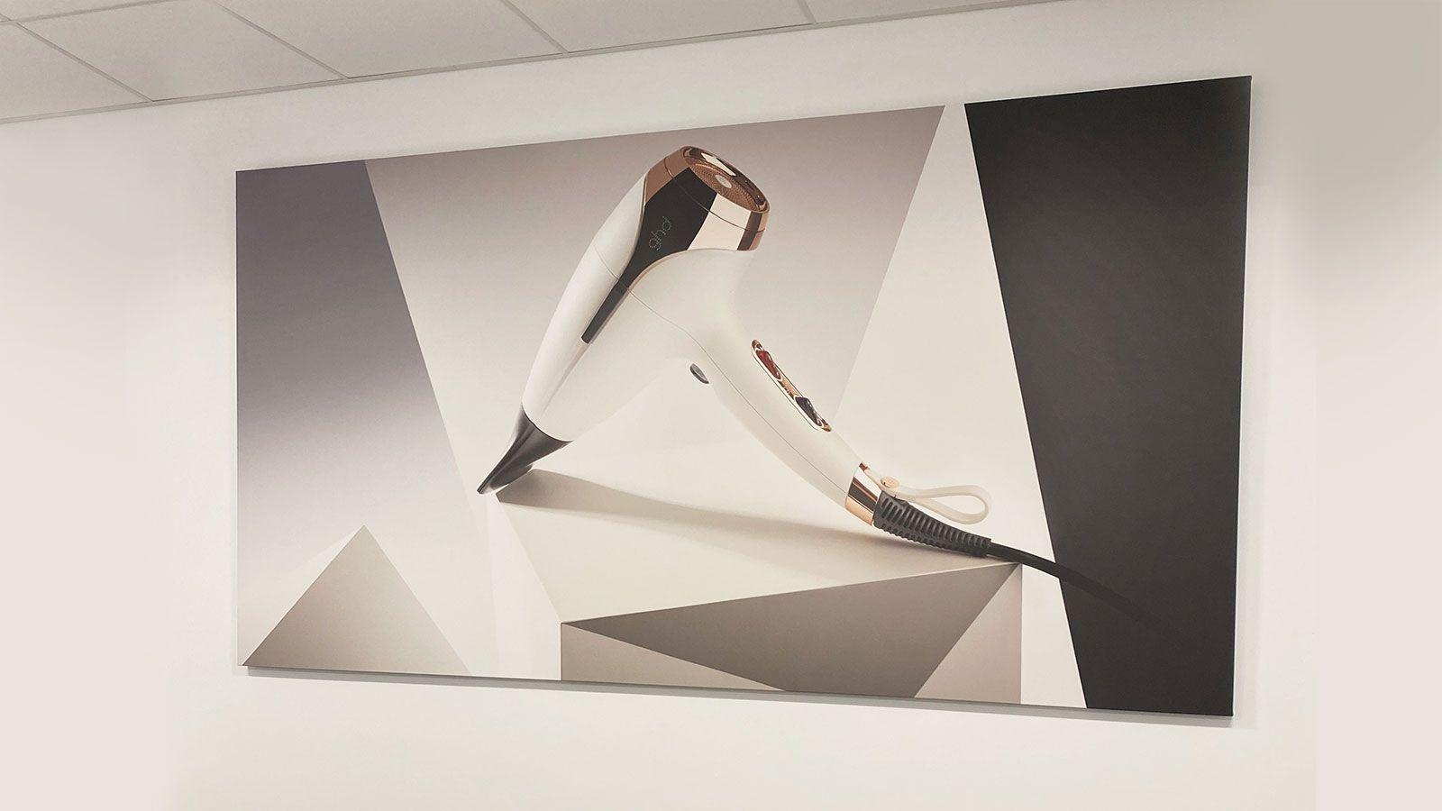 Wella Professionals interior canvas prints