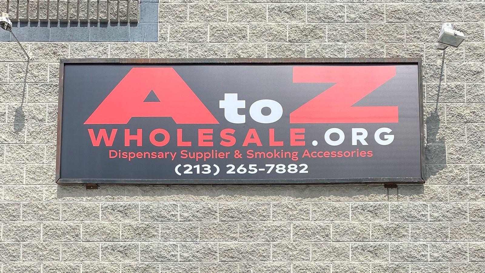 a to z wholesale light box