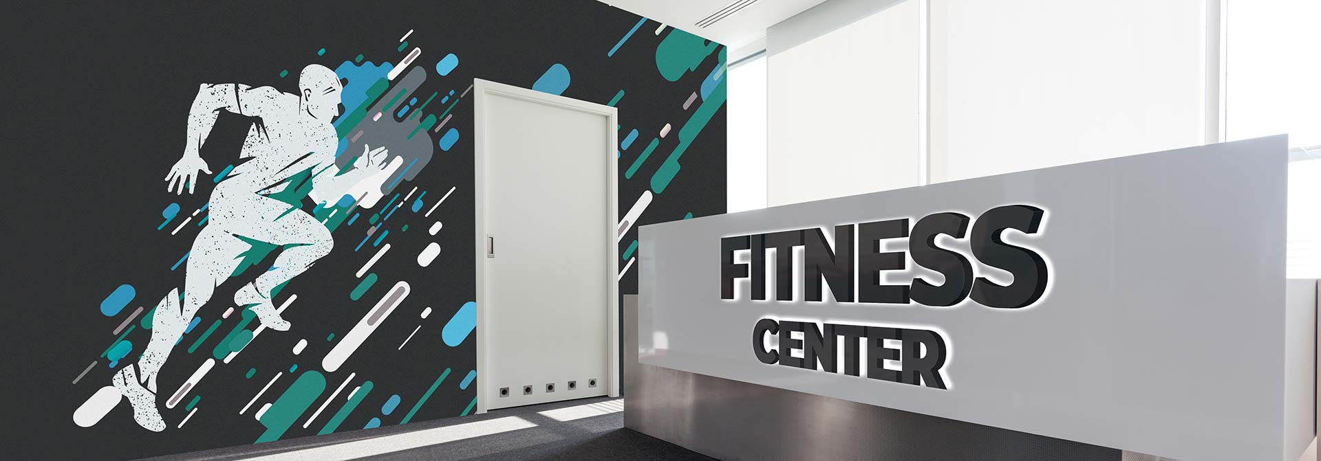 custom gym signs
