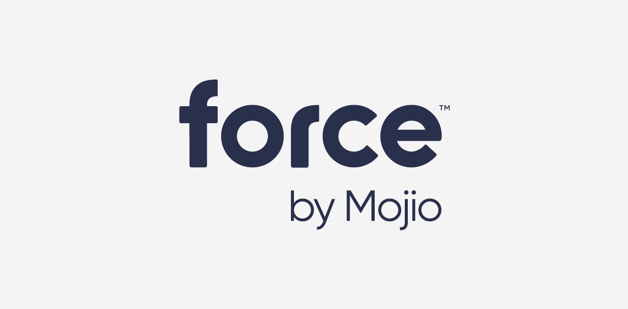force by Mojio logo font