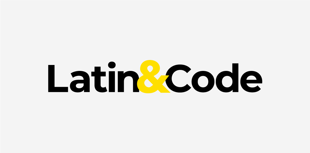 Latin and Code logo font