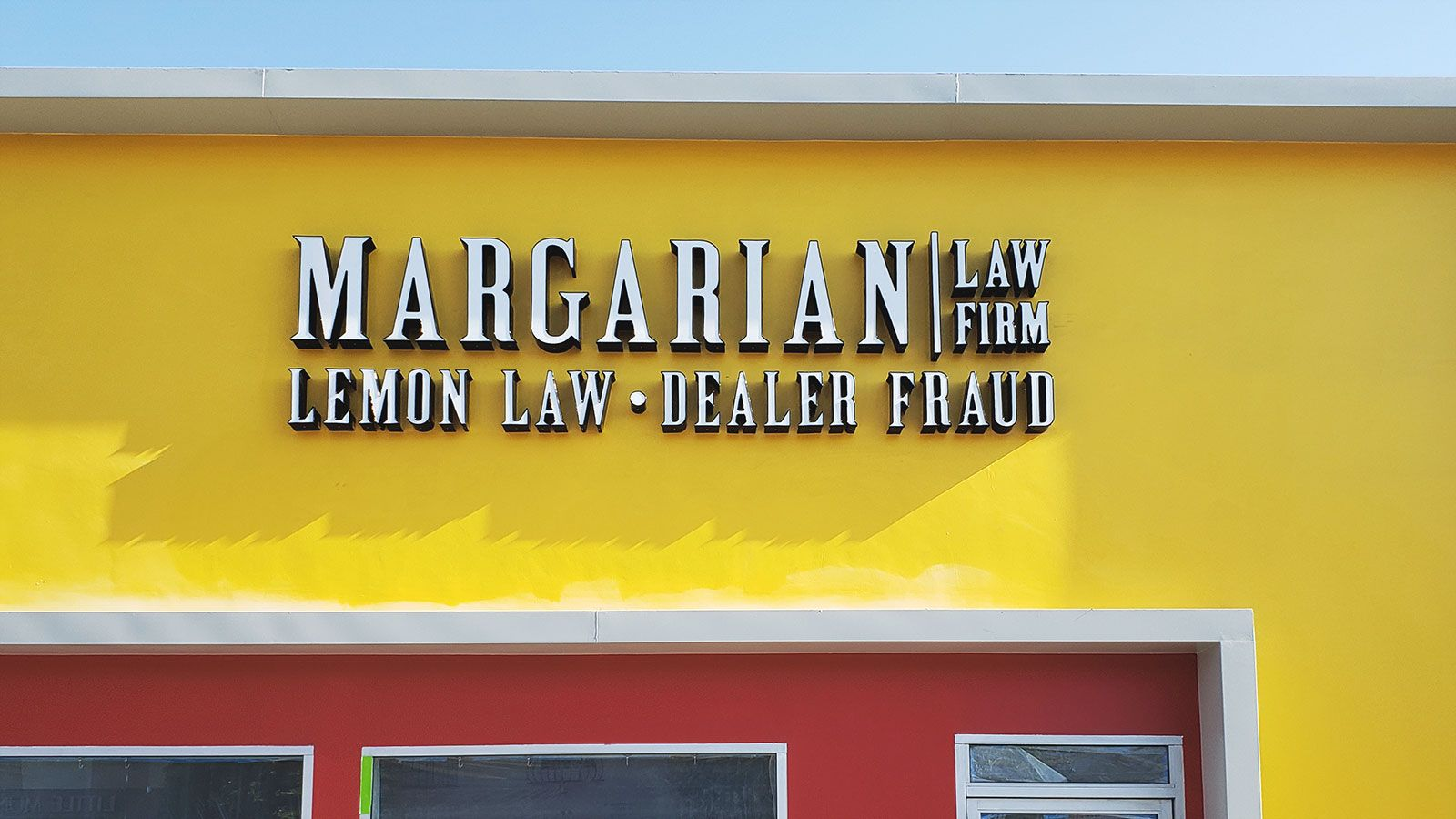 margarian law firm outdoor sign