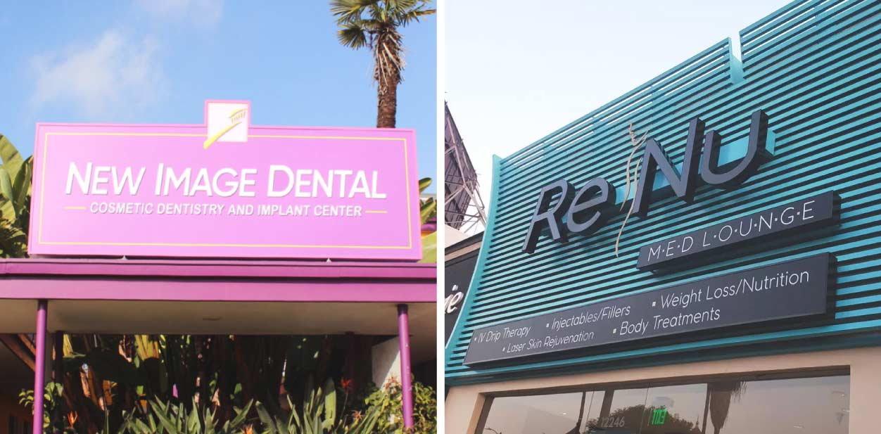 Medical clinic exterior design ideas inspired by Renu and New Image Dental