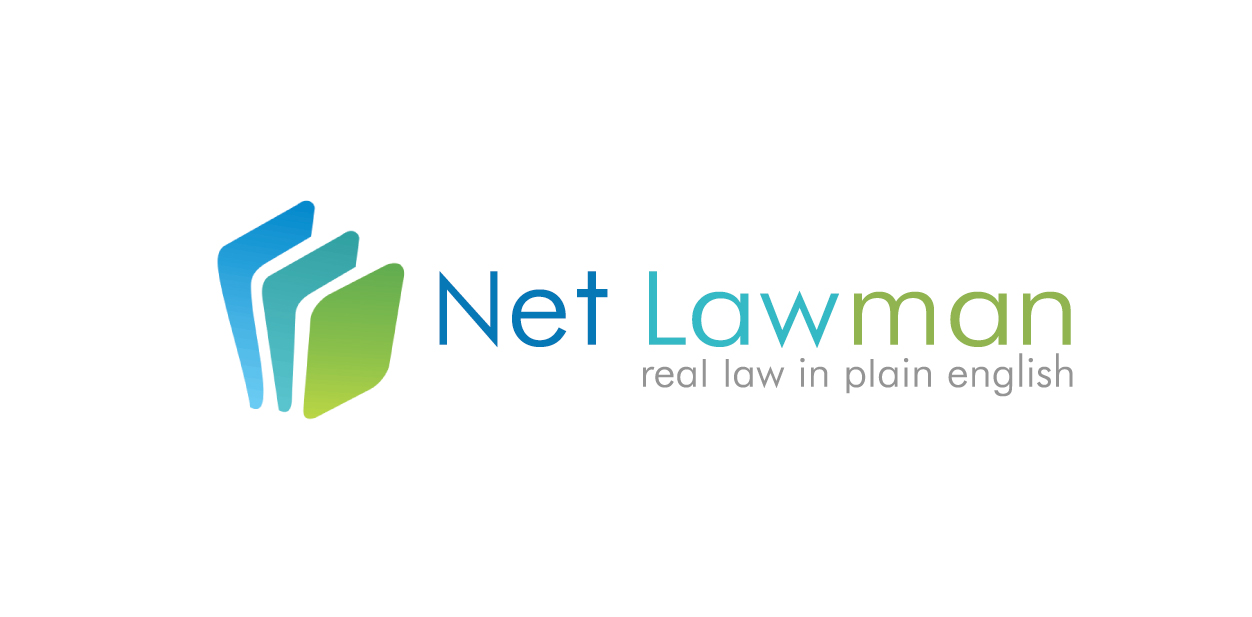 Blue, green and black logo colors of Netlawman