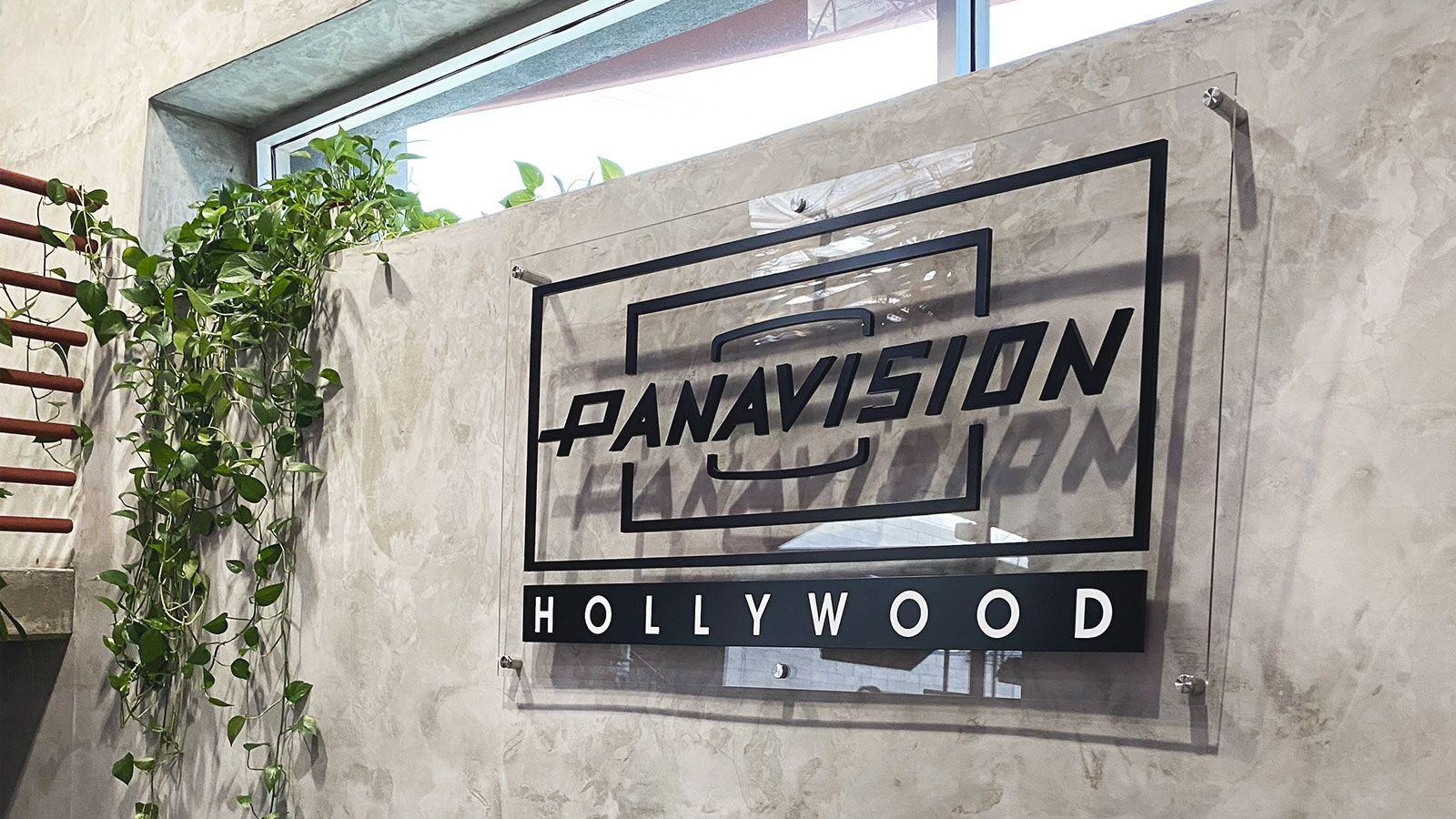 panavision hollywood office sign
