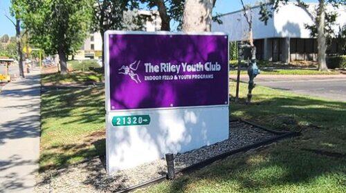 riley youth club monument signage