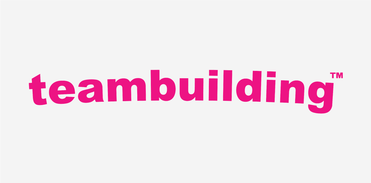 Pink logo color of the Team Building company