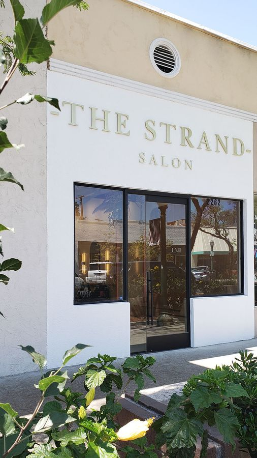 the stand salon 3d letters