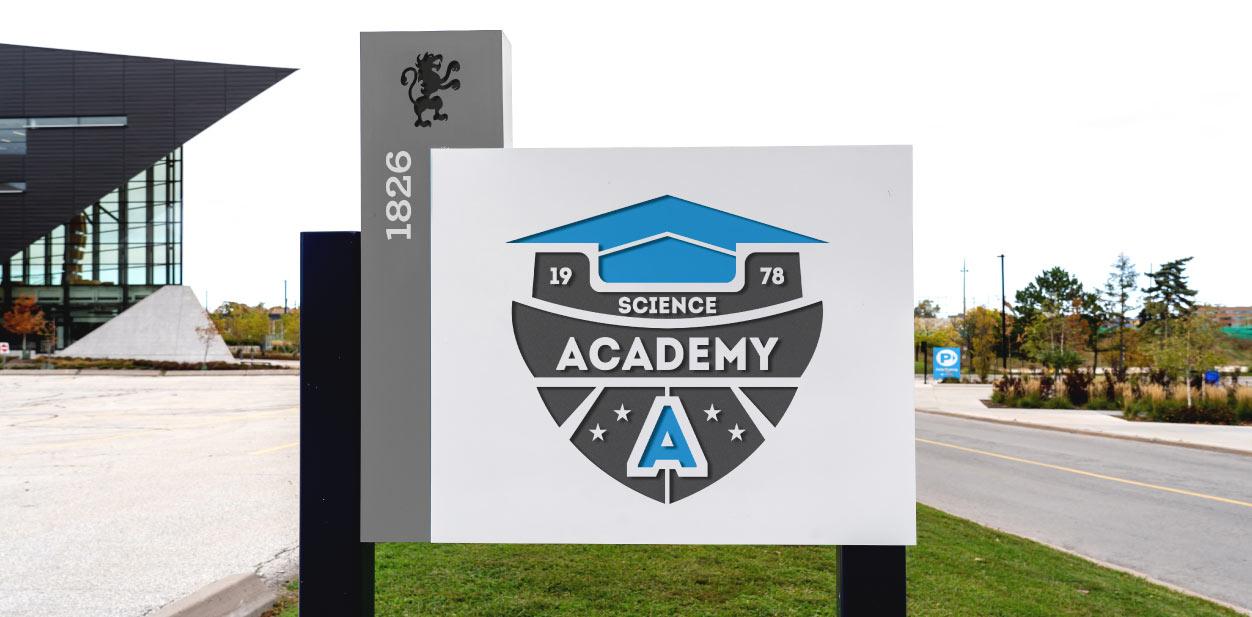Branding university signage