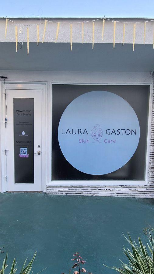 Laura gaston storefront decals