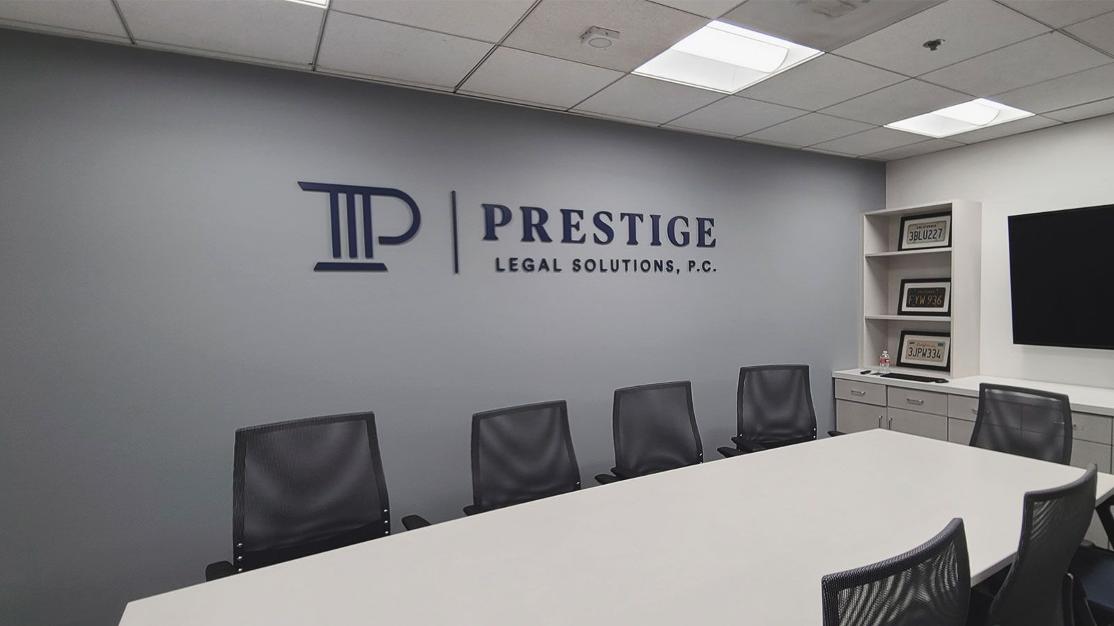 Prestige Legal Solutions 3D Letters