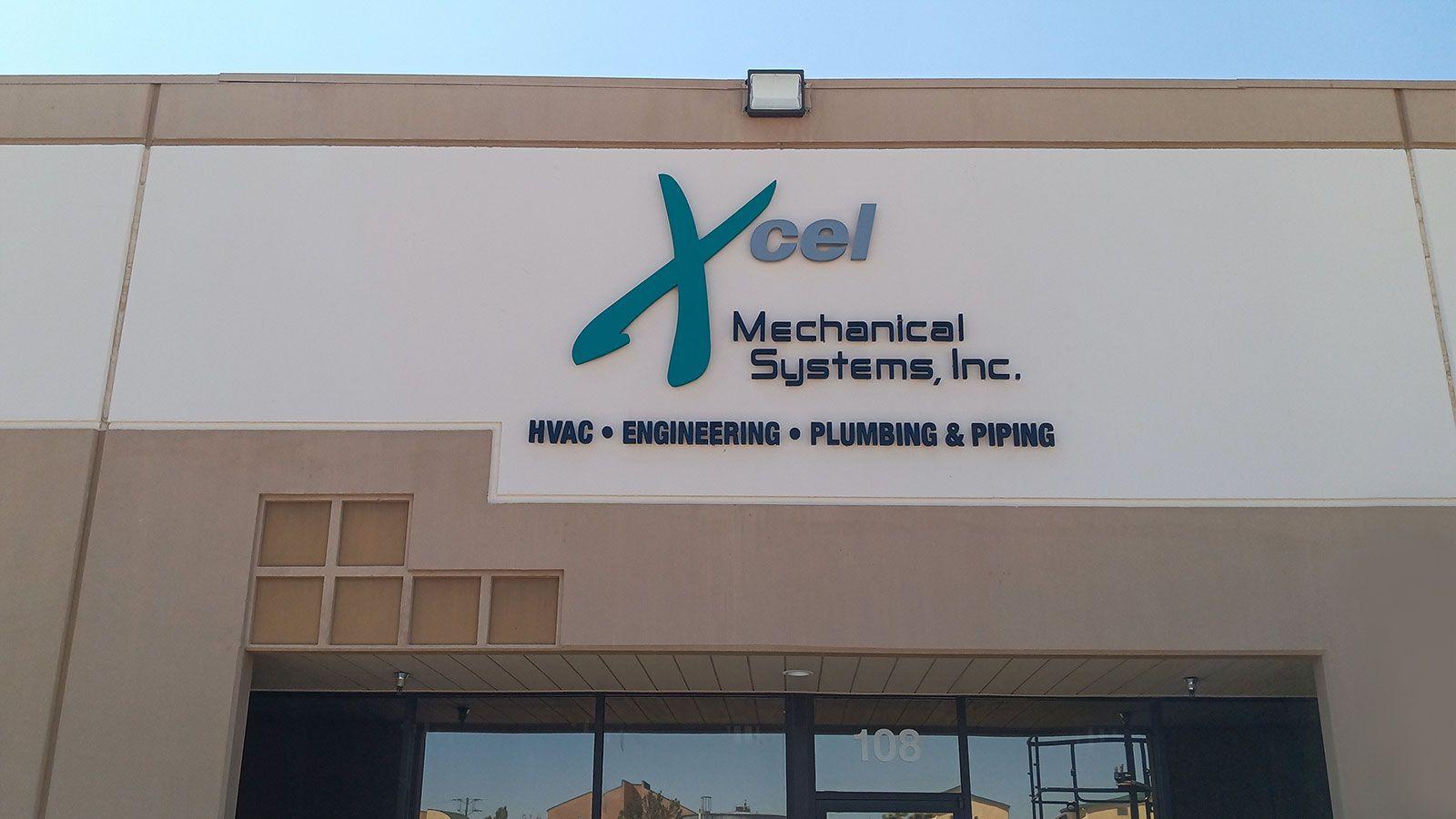 Xcel PVC 3D Letters
