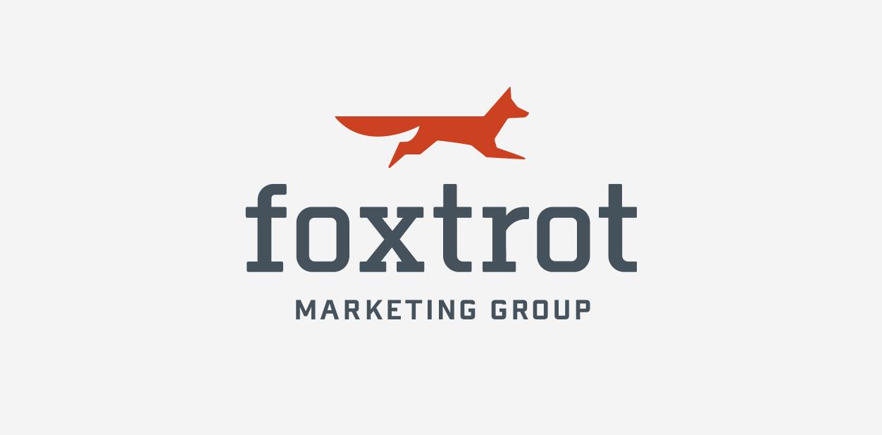 Foxtrot Marketing logo in a fox shape