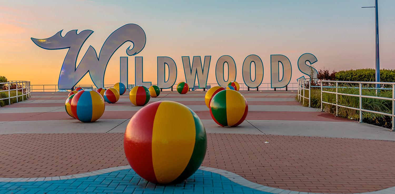 Environmental branding example from Wildwood, NJ.