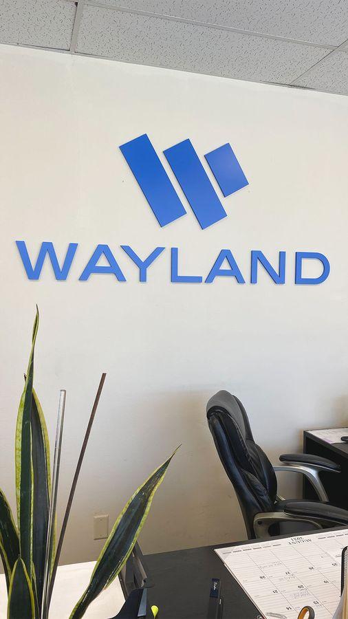 wayland office 3D letters