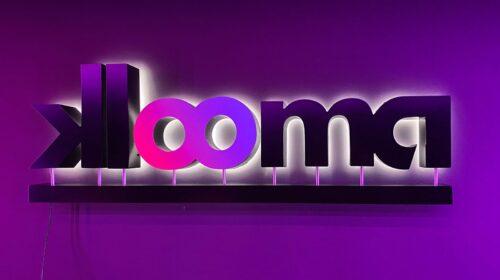 Klooma LED backlit letters