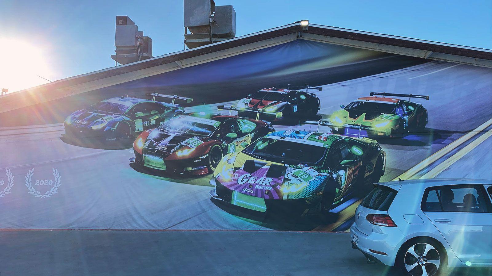 Lamborghini event banner