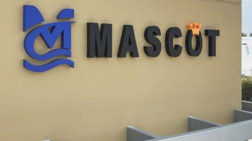 Mascot high-rise sign