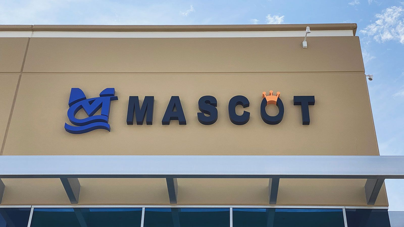Mascot outdoor 3D letters