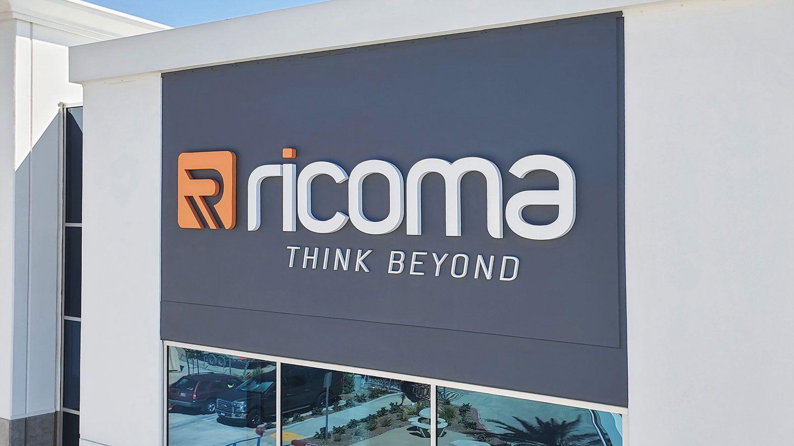 Ricoma building signs