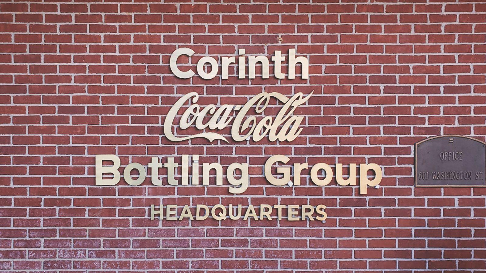 coca cola 3d sign