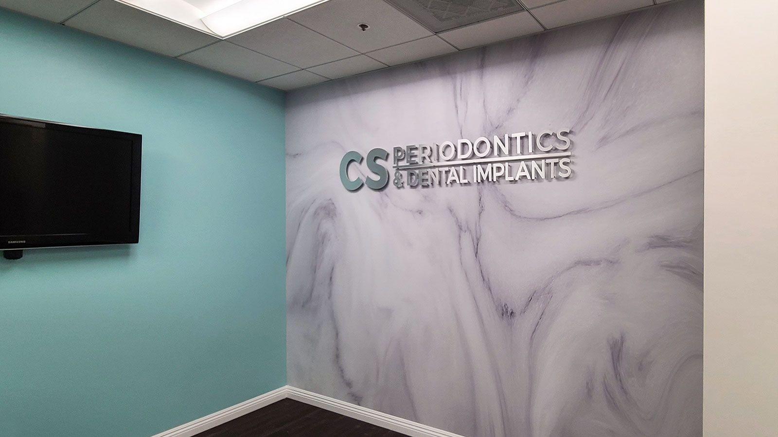 cs periodontics 3d letters