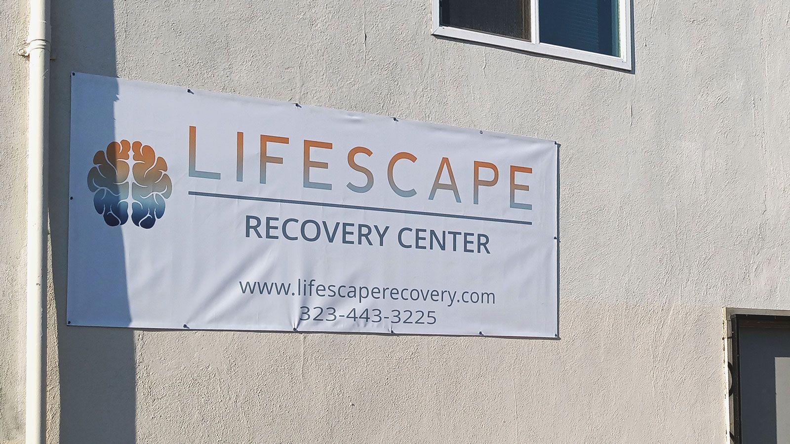 lifescape vinyl banner