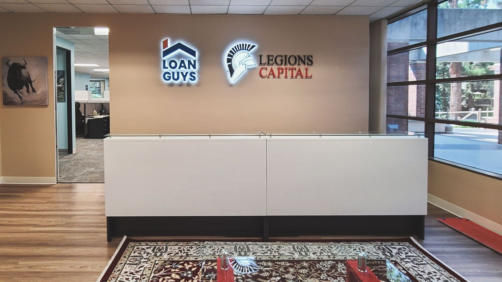 loan guys office signs