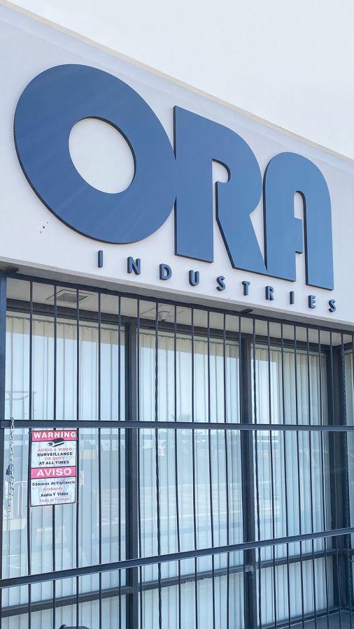 ora industries 3d letters