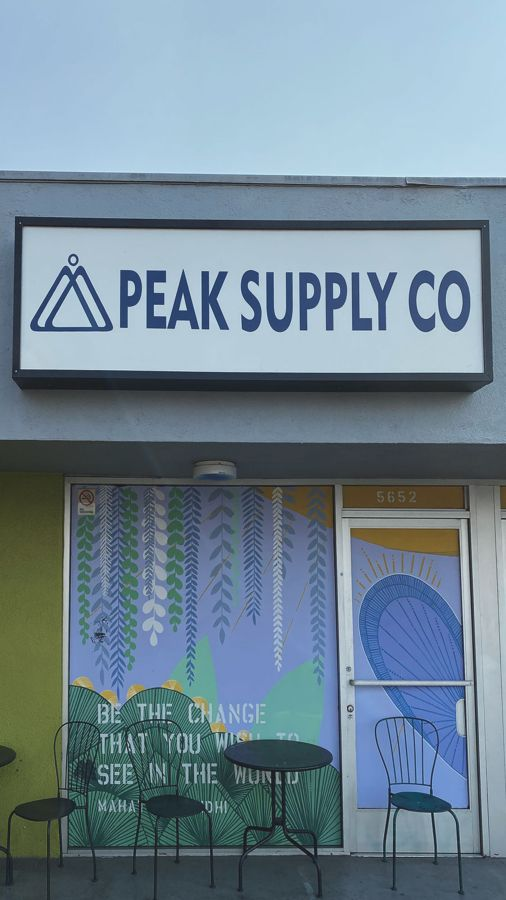 peak supply sign replacement