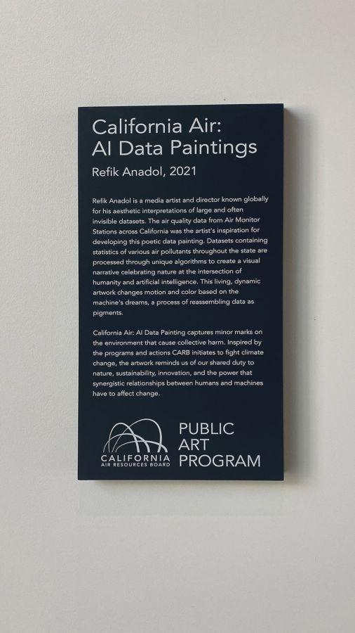 public art program aluminum signage