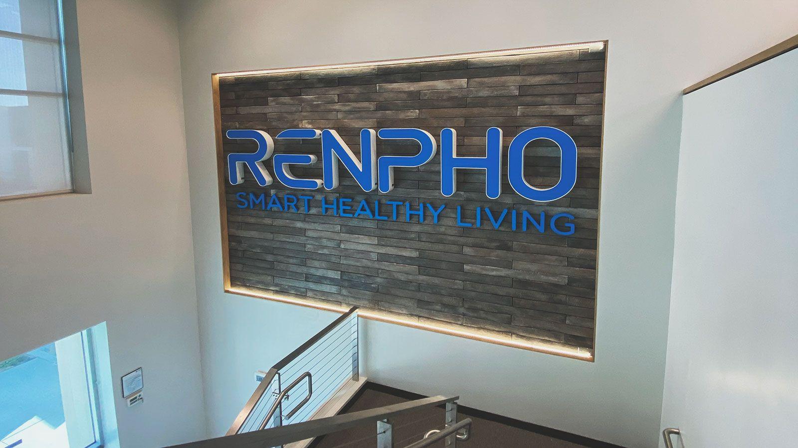 renpho 3D letters