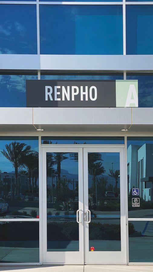 renpho aluminum sign